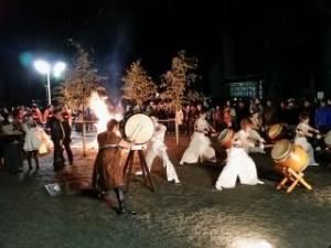 日光二荒山神社除夜の奉納演奏1